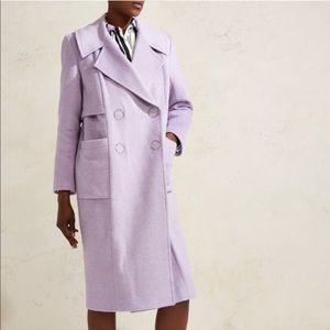 ♥︎BRAND NEW♥︎ Lilac purple oversized wool coat